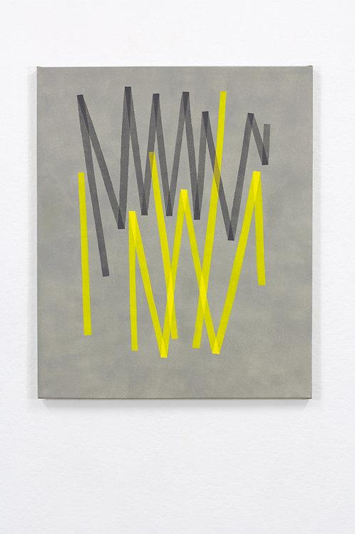 062. Sans titre 87, 2018, acrylique sur toile, 50 x 60 cm
