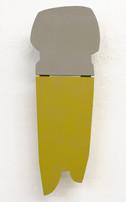 Izabela Kowalczyk, Relief 4, 2012, bois, charnières, peinture acrylique, 28 x 22 x 3 cm, coll. particulière