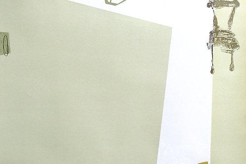 117. Dialogue 05, 2002, linogravure, 70 x 100 cm