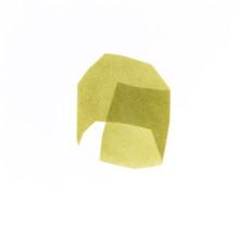 Izabela Kowalczyk, Sans titre 5, acrylique sur papier, 2020, 25 x 25 cm