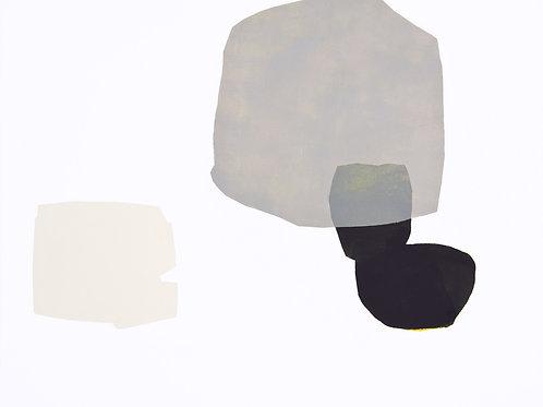 089. Sans titre 34, 2011, acrylique sur toile, 50 x 60 cm