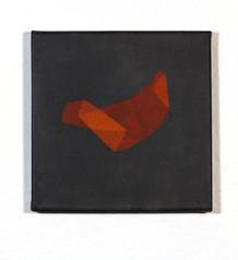 Izabela Kowalczyk, Sans titre 2, acrylique sur toile, 2020, 20 x 20 cm, collection particulière