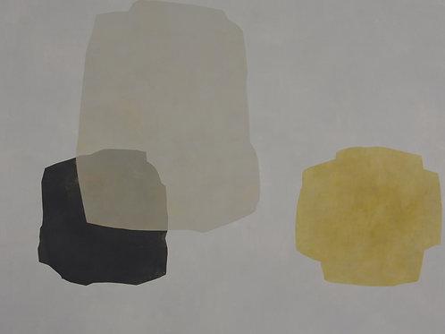 090. Sans titre 33, 2011, acrylique sur toile, 160 x 130 cm