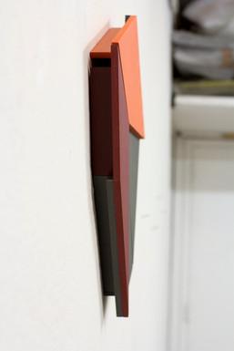 Izabela Kowalczyk, Relief 32, 2020, mdf, peinture acrylique, 51 x 51 x 5 cm