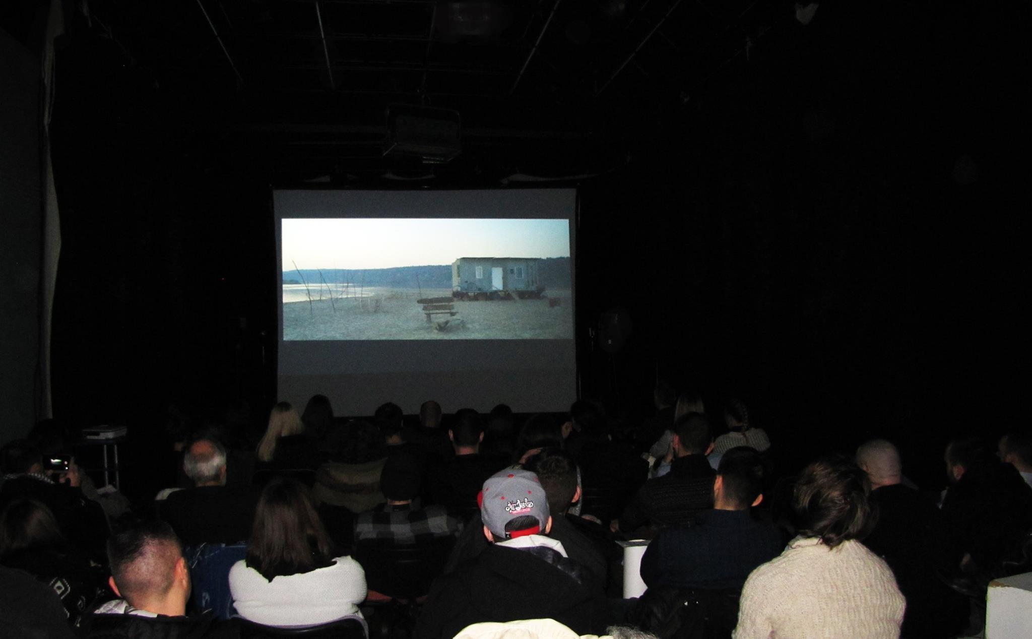 Enjoying the film