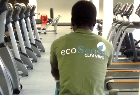 Leisure Cleaning with ecoSense