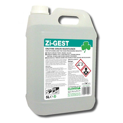 Zi- GEST Urinal / Drain Cleaner x2 5ltr