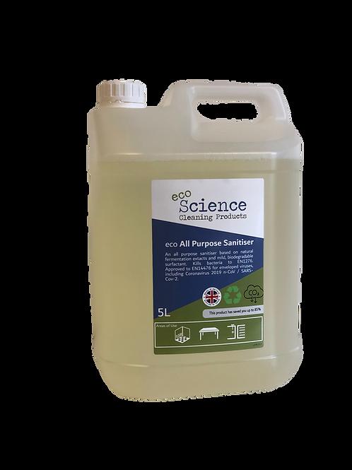 ecoScience - EcoSanitiser x 1 - 5Ltr