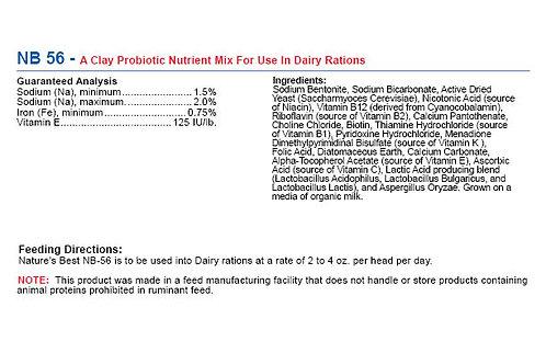 NB 56 - Best Healing Clay Probiotic Nutrient Mix