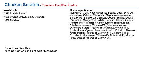 Chicken Scratch - Complete Feed For Poultry