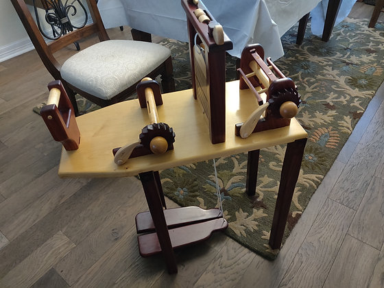 Two Treadle Reproduction Loom