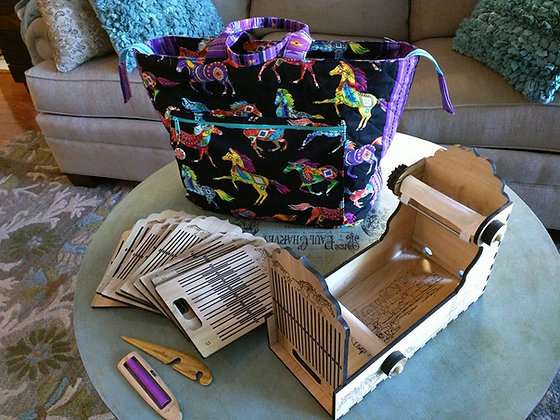 Handywoman Box Tape / Band Loom Build kit w/ one heddle