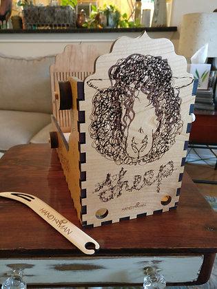 Handywoman Box Loom Made on order
