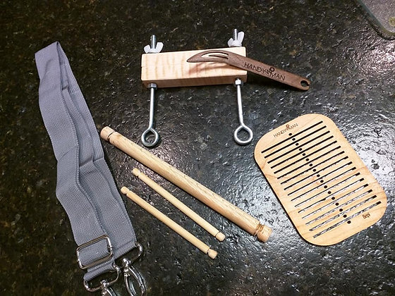 Small Cherry Backstrap Heddle w/ shuttle or Kit