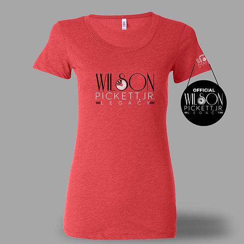 The Official Wilson Pickett Legacy Logo Ladies T-Shirt