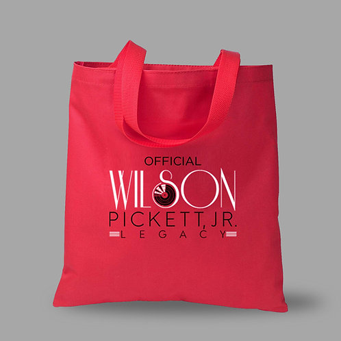The Official Wilson Pickett Legacy Logo Canvas Tote Bag