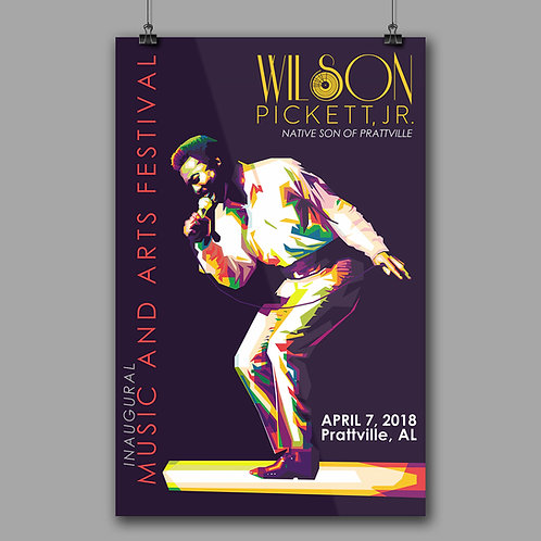 2018 Official Inaugural Music and Arts Festival Commemorative Poster