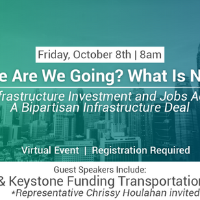 Where are we going? What is next… Infrastructure Investment and Jobs Act