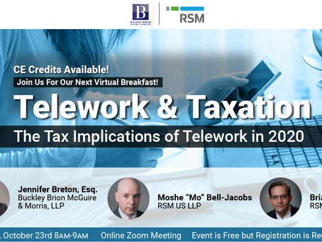 Taxation and Telework- Implications of the pandemic on your tax liabilities.