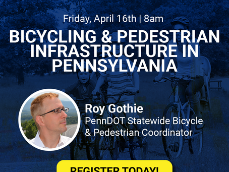 PA's Bicycle and Pedestrian Connections; An Update.