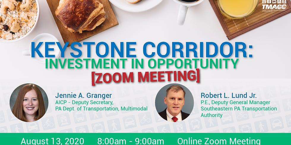 Keystone Corridor: Investment in Opportunity