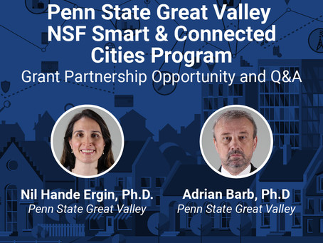 Penn State Great Valley and the Smart and Connected Cities Program