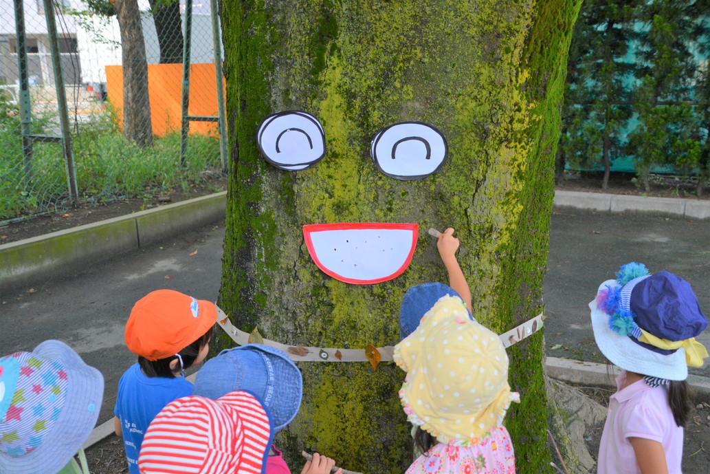 区立桜丘中学校の校庭