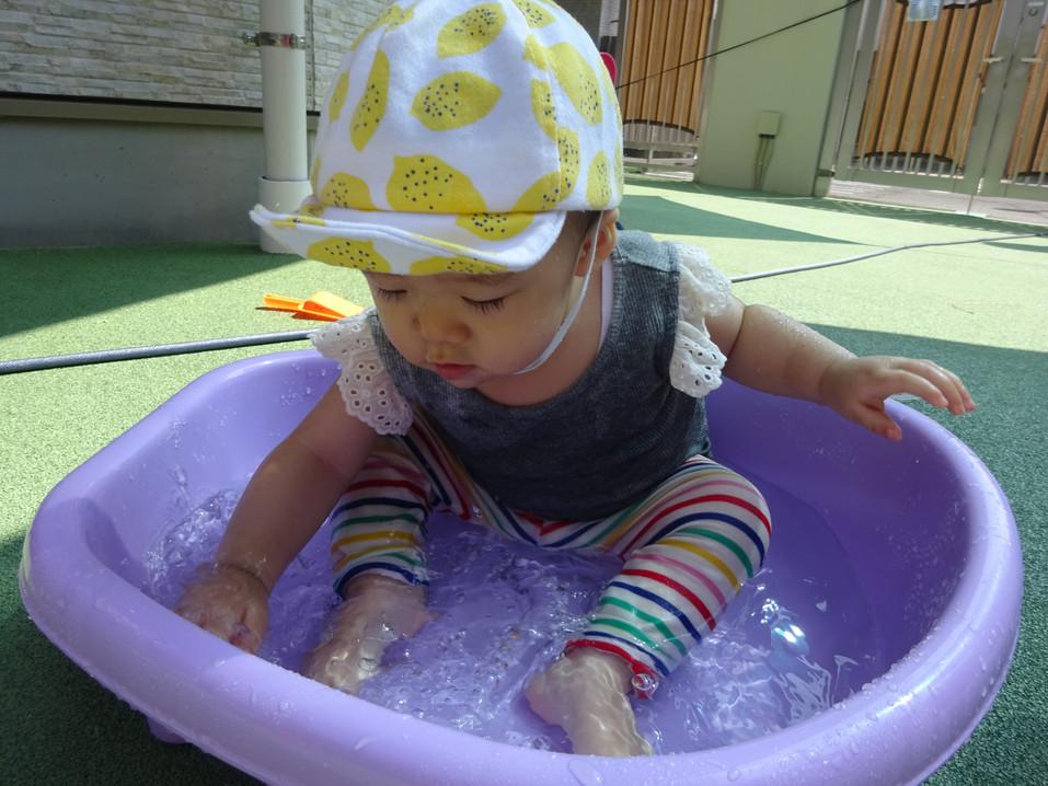 夏の水あそび
