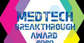 """Novarad Wins """"Best New Radiology Solution"""" Award in 2020 MedTech Breakthrough Awards Program"""