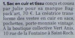 2014 La Gazette détail