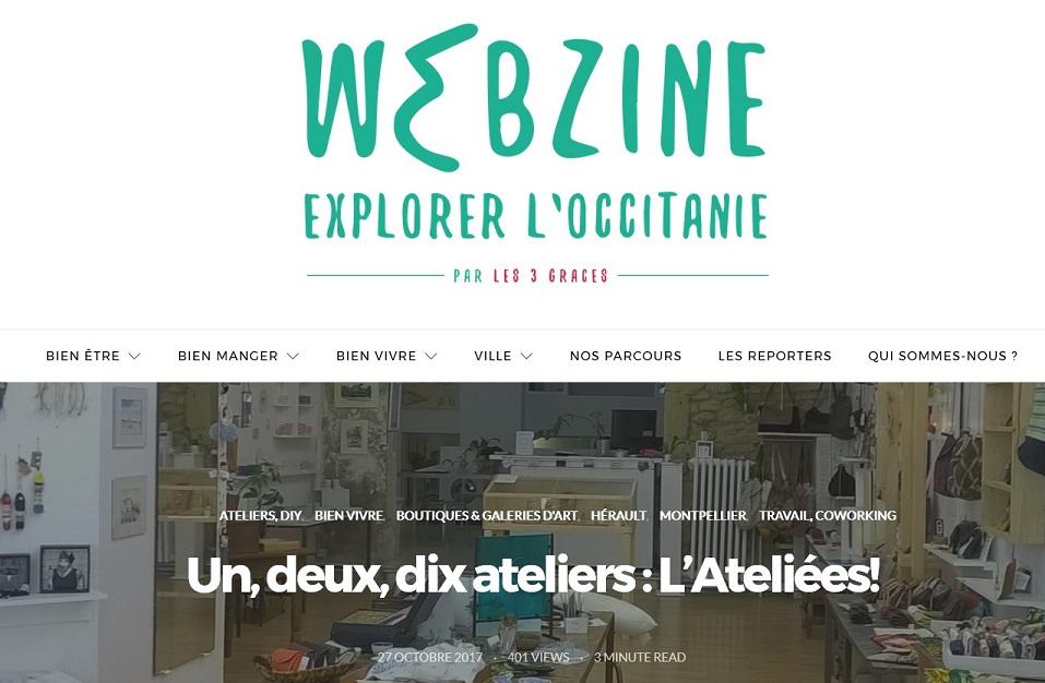 2017 webzine les 3 graces