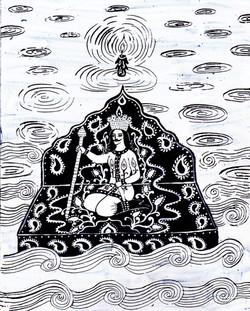 014- Shahnameh, Siavash dreams of Tous
