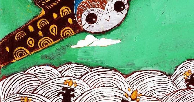 5-The Caterpillar in Vase