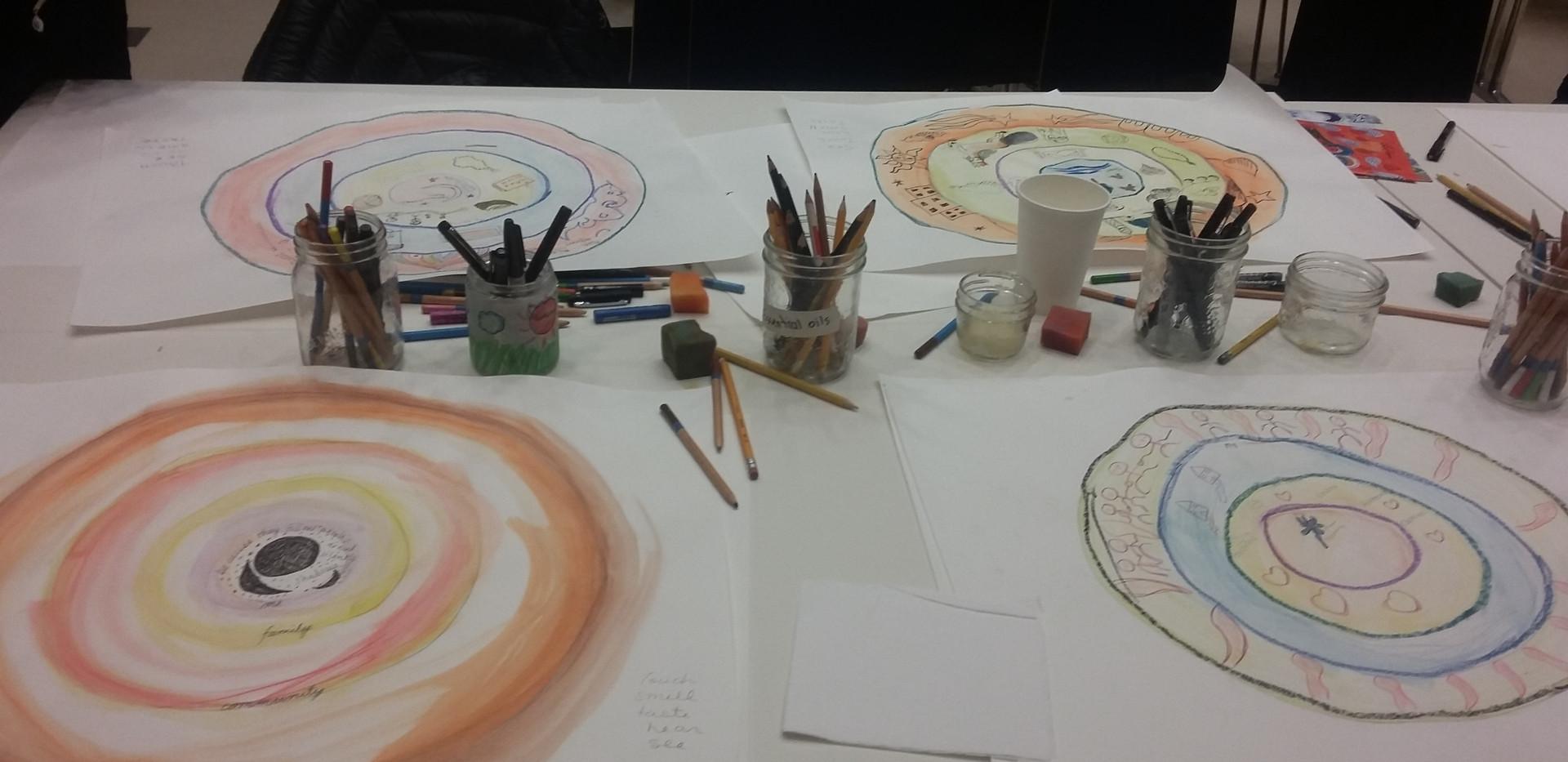 Ramadan map of memories workshop