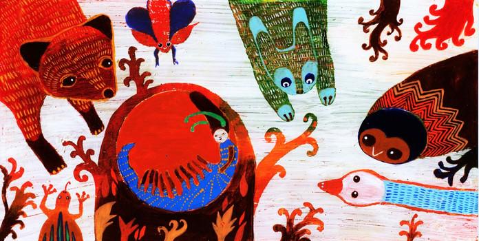 7-The Caterpillar in Vase