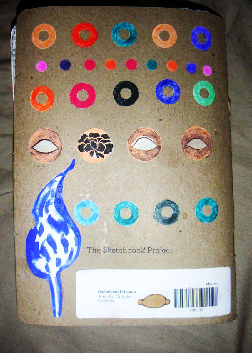 18- Sketchbook project- Brooklyn
