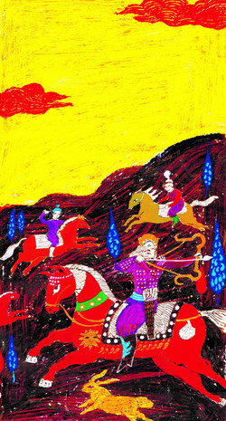 07- Shahnameh, Bahram Goor