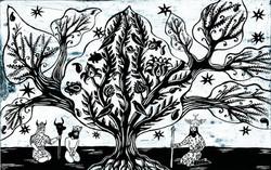 022- Shahnameh,The Jewelry Tree