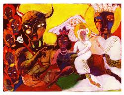 Miraj Nameh ; The Book of Acension -