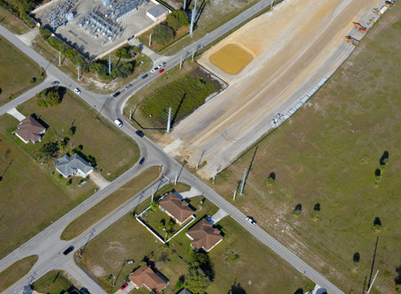 Thompkins Contracting Making Progress on Littleton Kismet Realignment  Project,   Cape Coral