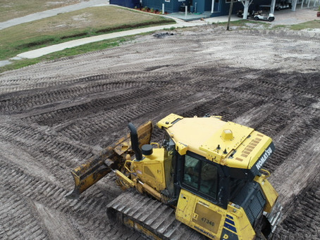 TCI - Storm Sewer Installation  Underway at Torry Trails RV & Golf Resort - March 2020