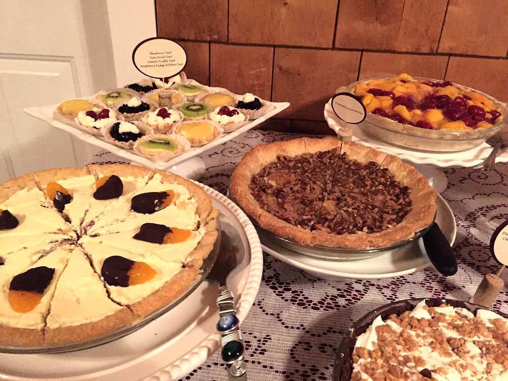 Homemade Pie Bar, Events By Gayle client