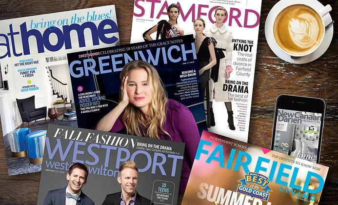 Moffly Media magazine covers