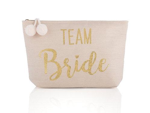 """""""Team Bride"""" Zip Pouch"""