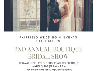 2nd Annual Bridal Show at the Delamar Hotel Southport
