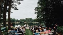 Local Wedding Spotlight - Gorgeous Lake Wedding