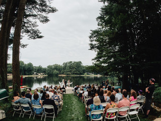 Local Wedding Spotlight - Gorgeous Lake Wedding