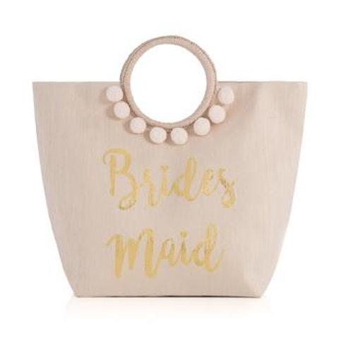 Mia Bridesmaid Tote Blush