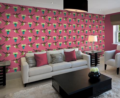 Humming Birds - from £43/m²   Rocket Walls   Wall Murals and Wall Art