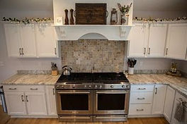 Interior kitchen counters - stove top